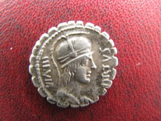 Roman Republic Ar Denarius Mn.  Aquillius Mn.  F.  Mn.  N.  71 Bc photo