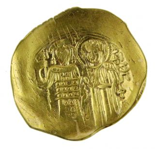 Empire Of Nicaea - John Iii Ducas - Vatazes 1222 - 1254 Gold 4.  30g/28mm Magnesia M - 329 photo