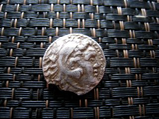 Alexander Iii The Great 336 - 323 Bc.  Silver Drachm Ancient Greek Coin / 3,  65gr photo