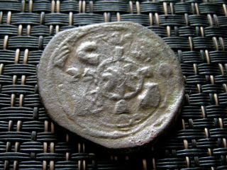 Nicephorus Iii Botaneiates 1078 - 1081 Ad Bronze Follis Unique Error Mitting photo