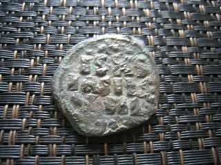 Constantine X Ducas 1059 - 1067 Ad Class F Anonymous Follis Ancient Byzantine Coin photo