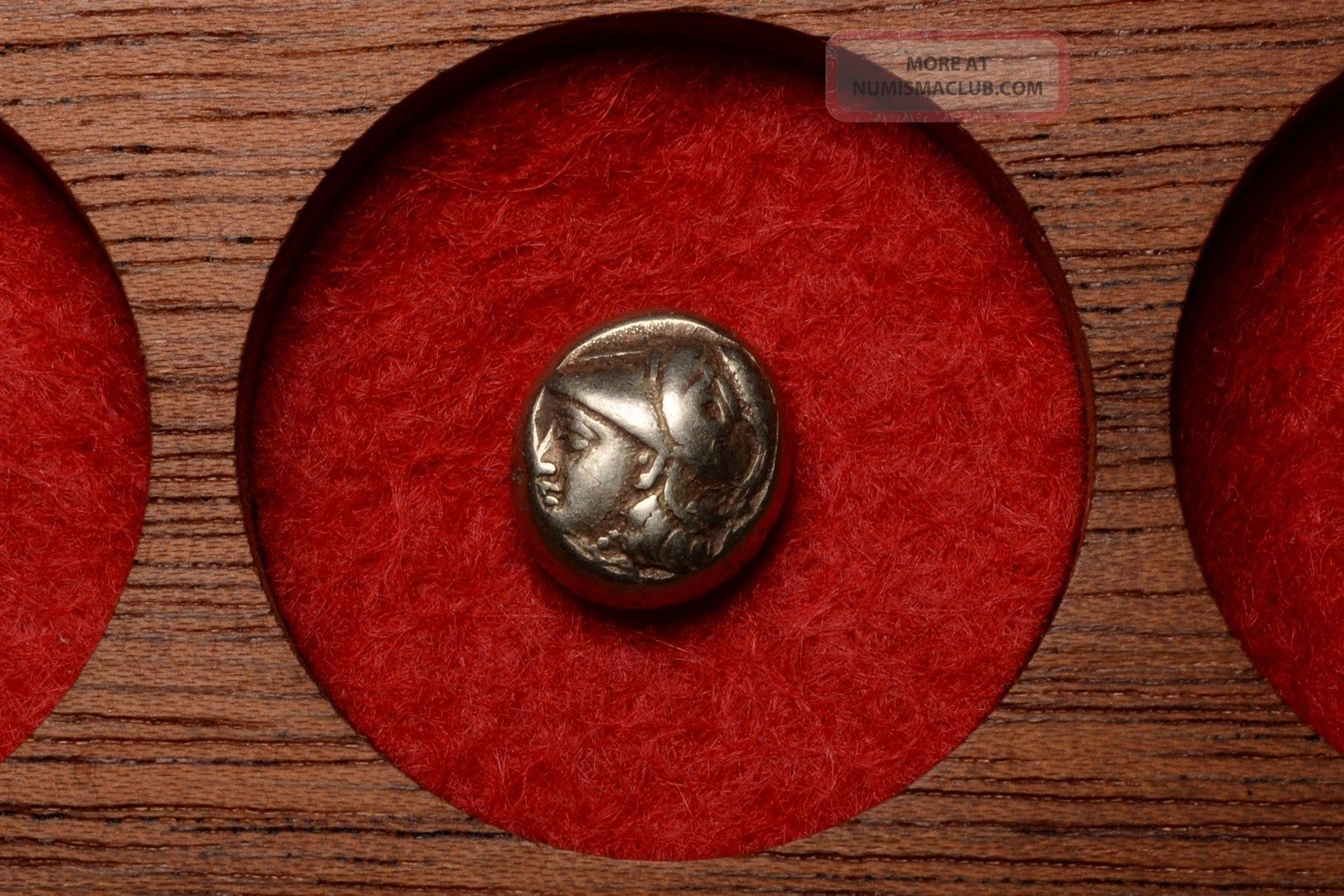 Ancient Greek Electrum Gold Hekte Coin From Mytilene Lesbos - 412 Bc Coins: Ancient photo