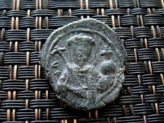 Alexius I 1081 - 1118 Ad Ae Tetarteron Thessalonica Ancient Byzantine Coin photo