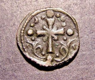 Nicephorus Iii,  Latin Christian Cross In 1081 Ad,  Ancient Byzantine Emperor Coin photo