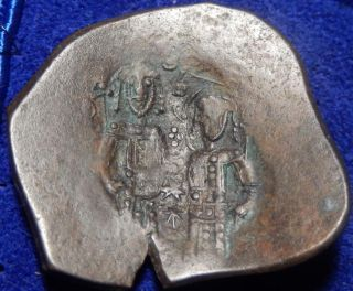 Mortown Alexius Iii Angelus - Comnenus.  1195 - 1203 Ad.  Ae 27mm Trachy photo