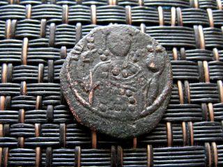 Manuel I Comnenus 1143 - 1180 Ad Ae Tetarteron Thessaloniki photo