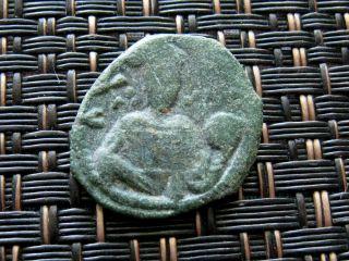 Alexius I Comnenus 1081 - 1087 Ad Bronze Ae Tetarteron Constantinople photo