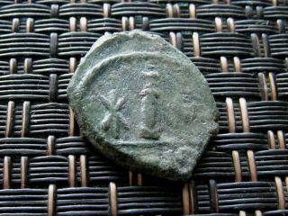 Maurice Tiberius 582 - 602 Ad Ae Decanummium Constantine In Numidia. photo