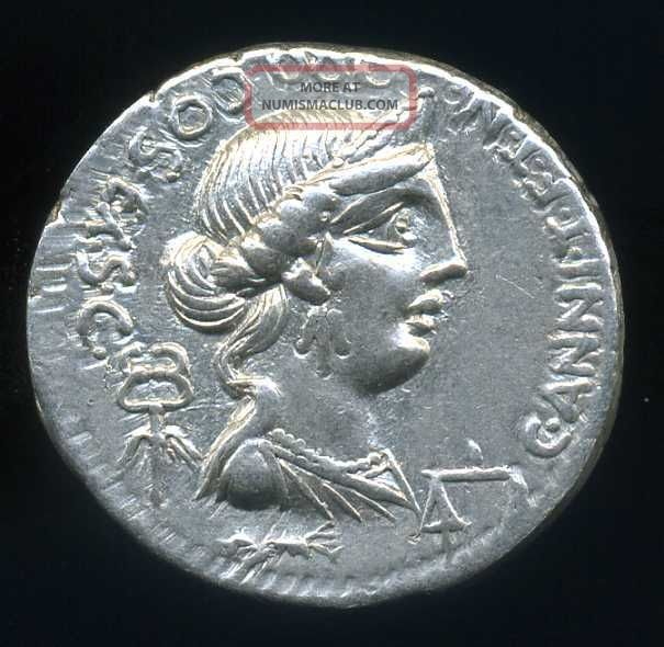 D - D Roman Republic,  Annia 2 (82 - 81 Bc. ) Denarius,  3,  80 G (sear 289) (ef) Coins: Ancient photo