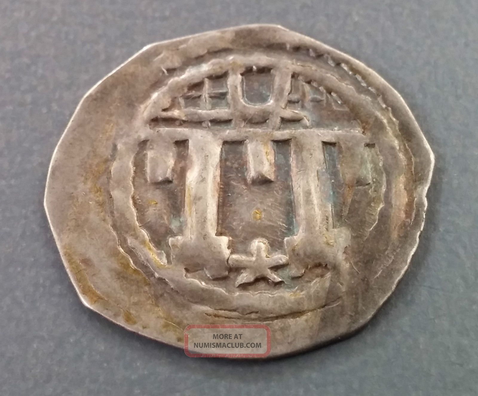 C 1200s Medieval German Silver Coin