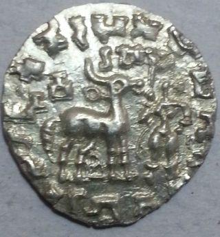 Kunindas,  Amoghabhuti (c.  200 Bc),  Silver Drachma,  Scarce 1 photo