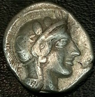 Coins: Ancient Coins & Paper Money Rare Unresearched Hemidrachm Greek Silver Coin 300 Bc 6