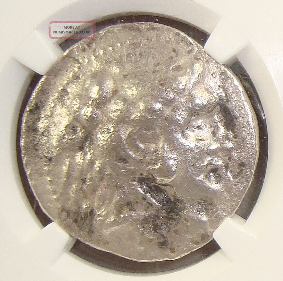 336 - 323 Bc Alexander Iii (the Great) Ancient Greek Silver Tetradrachm Ngc Vf 3/2 Coins: Ancient photo