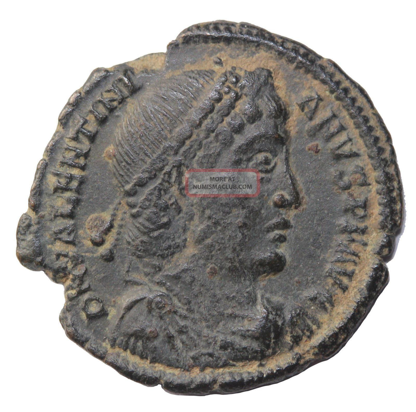 Valentinian I 364 - 375 Ad Ae3 Heraclea Ancient Roman Bronze Coin W Valens Coins: Ancient photo