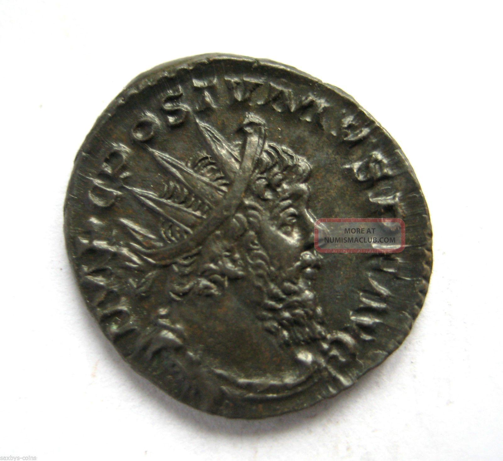 260 A D British Found Emperor Postumus Roman Period