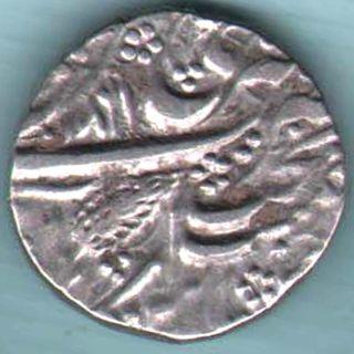 Sikh Empire - Ah 1861 - One Rupee - Rare Silver Coin Z - 22 photo
