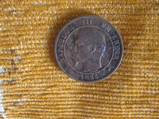 10 Centimes 1855 France photo