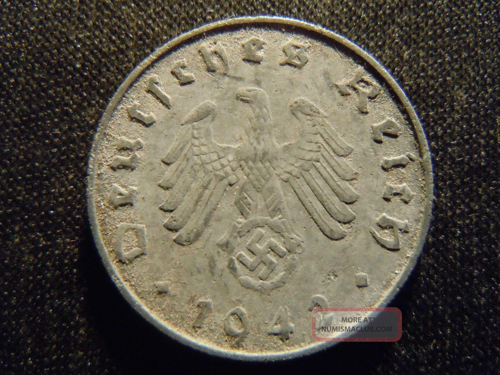1942 german coin