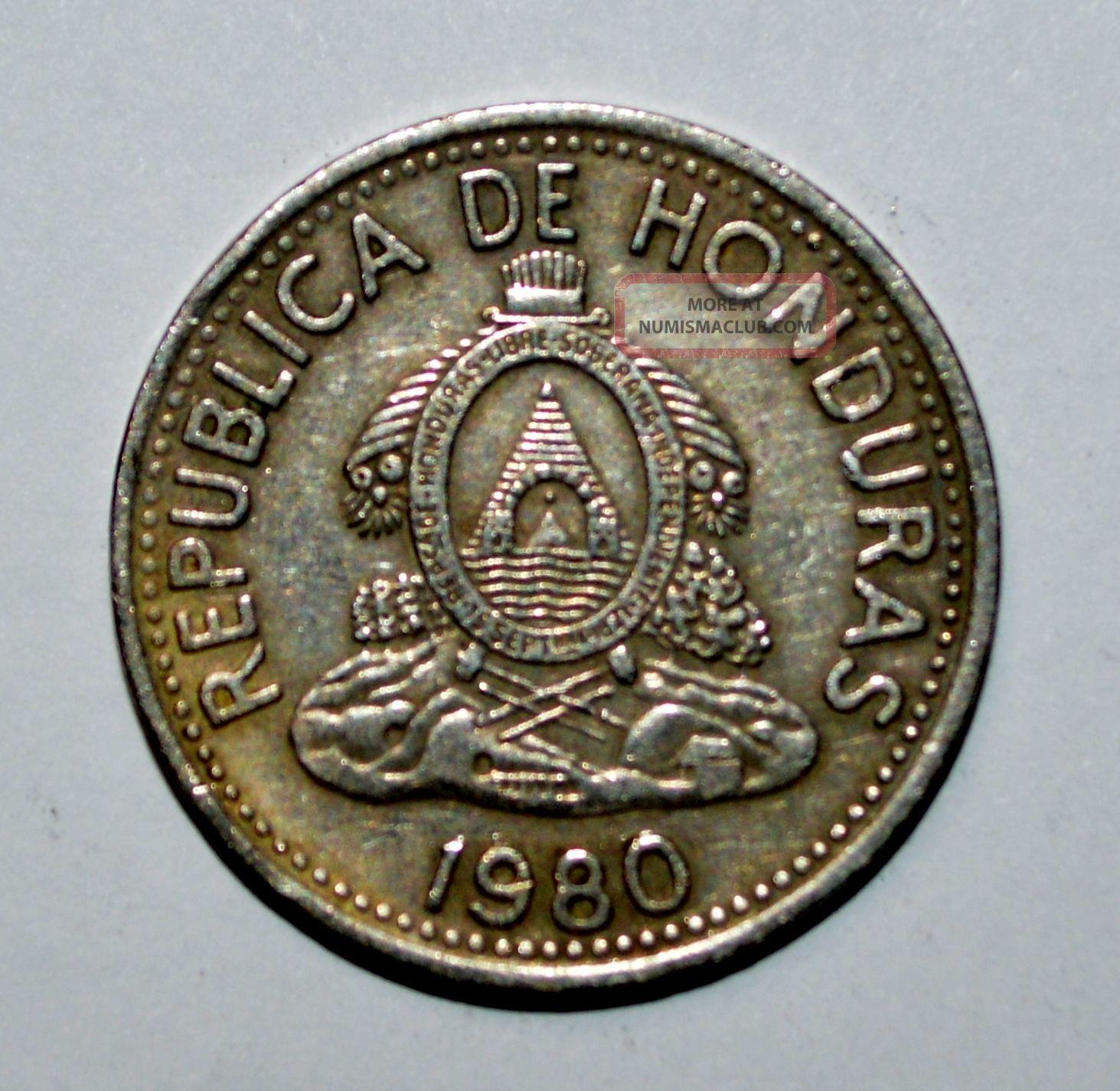 Diez Centavos 1980 Honduras 10 Centavos Diez