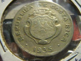 1935 1 Colon Costa Rica photo