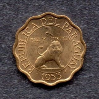 1953 Paraguay : Coin photo