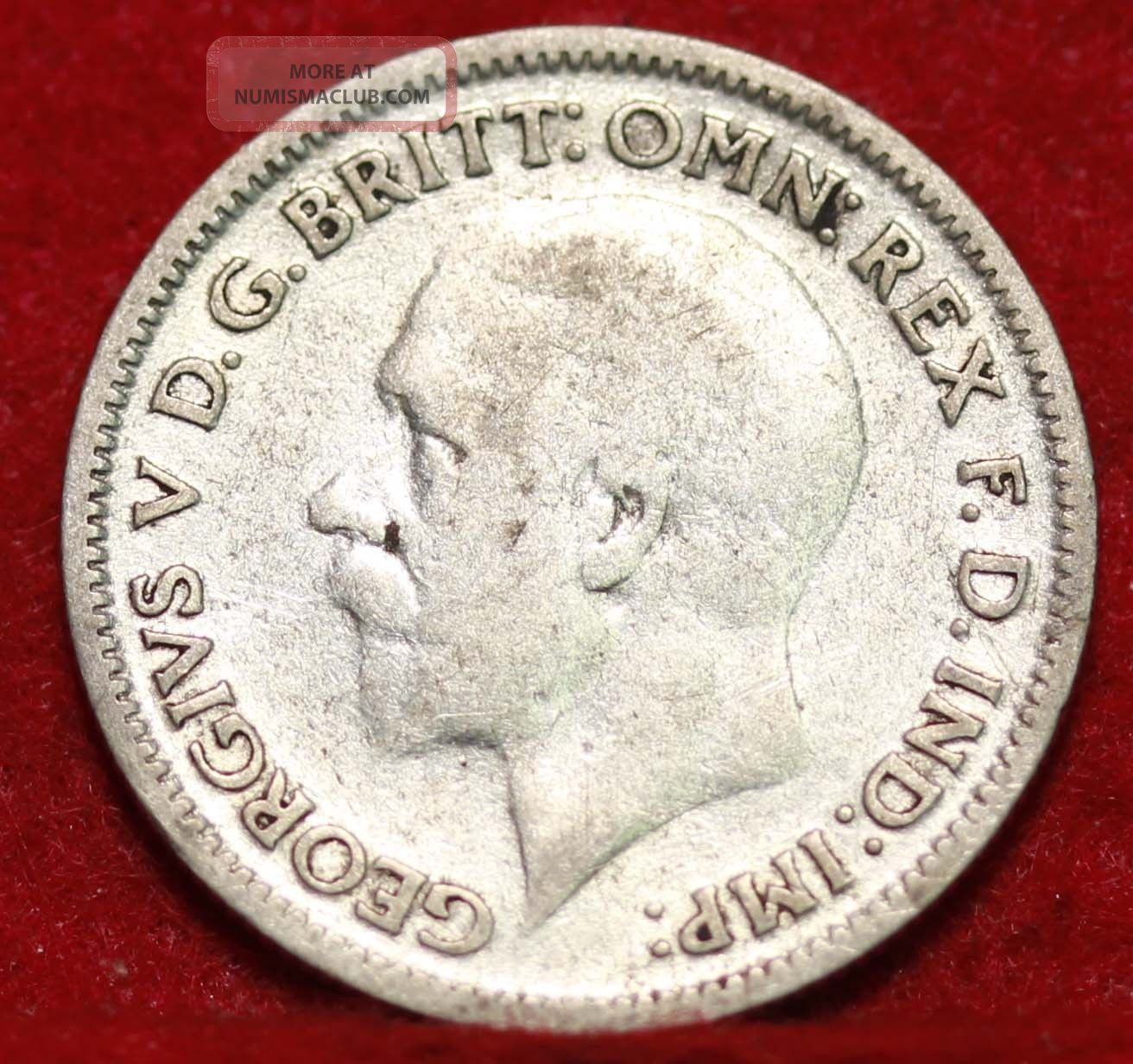1931 Great Britain 6 Pence Silver Foreign Coin S/h UK (Great Britain) photo