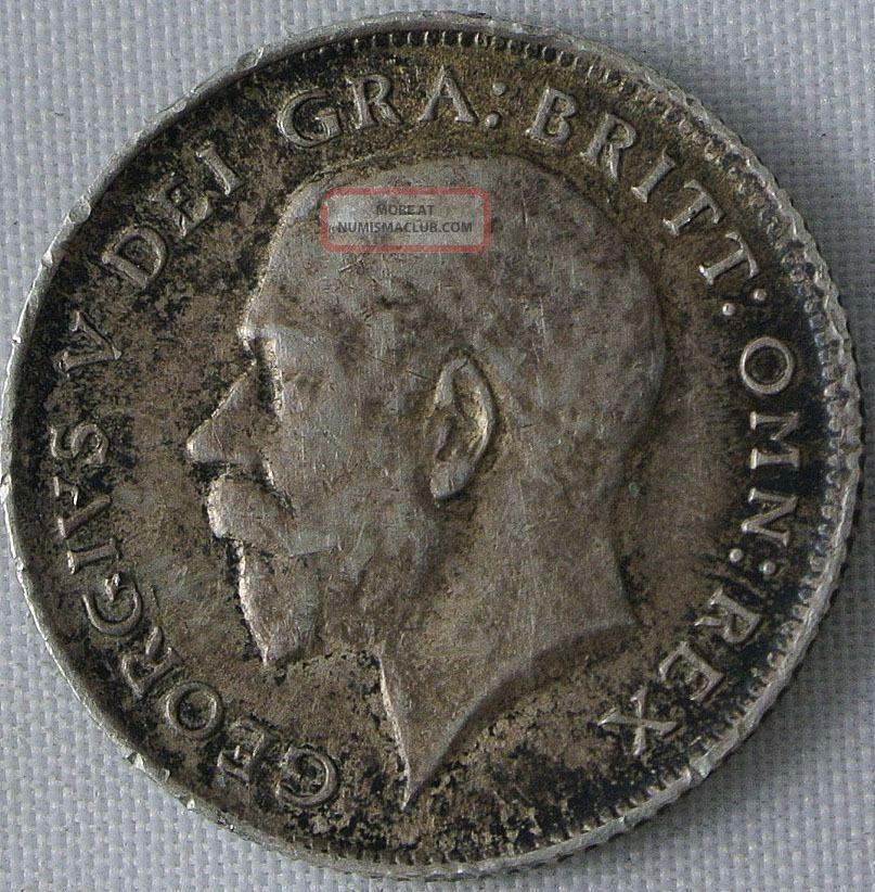 Great Britain 1914 6 Pence Km 815.  0841 - Xf UK (Great Britain) photo