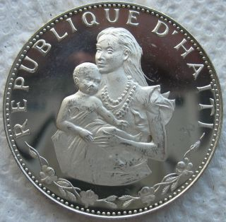 1973 Haiti Proof 50 Gourdes photo