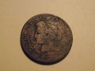 794 France; 10 Centimes 1881 photo