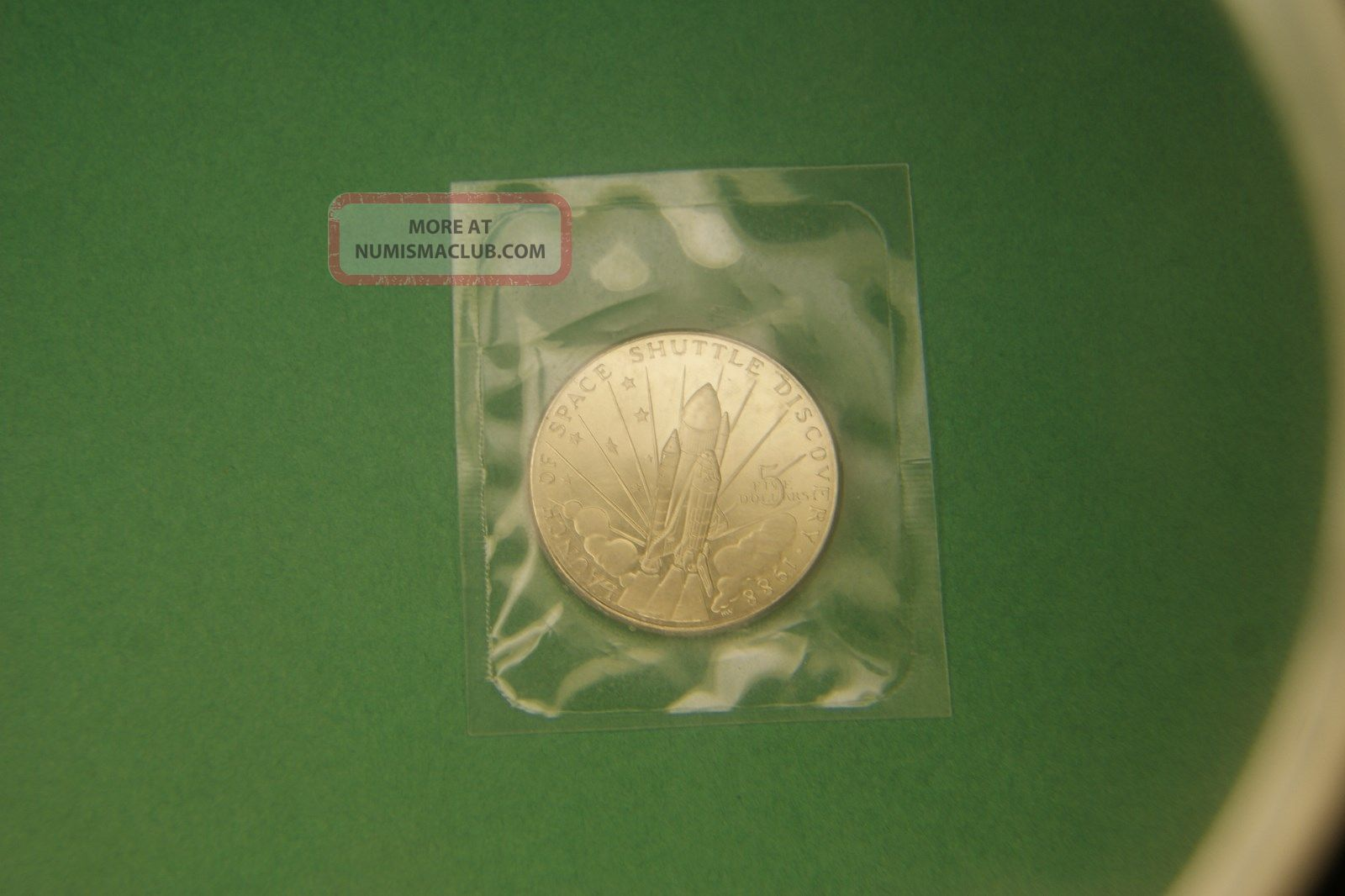 space shuttle discovery 5 dollar coin worth - photo #11
