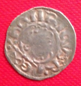 England King John Lackland Hammered Silver Penny photo