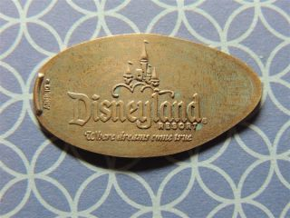 Elongated Penny Disney - Dl0363z - Disneyland Castle