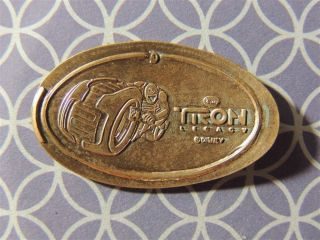 Elongated Penny Disney - Dl0501z - Tron Light Cycle Narrow Border - Retired photo