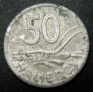 Slovakia 50 Halierov Coin 1943 Km 5a (c) photo