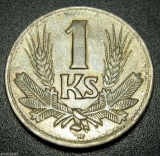 Slovakia 1 Koruna Coin 1941 Km 6 (a1) photo