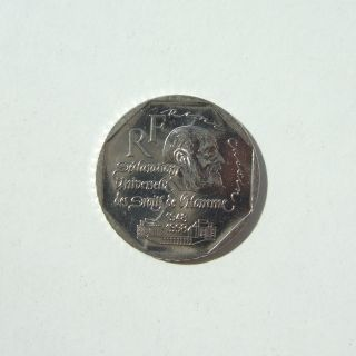 Lp France - 1998 - 2 Francs - Declaration Of Human Rights - Rene Cassin photo