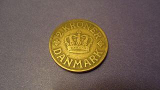 Denmark 1926,  Two Kroner.  :: Key Date :: $$cv$$ photo