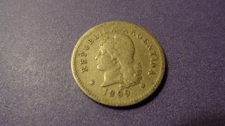 Argentina 1899,  Ten Centavos. photo