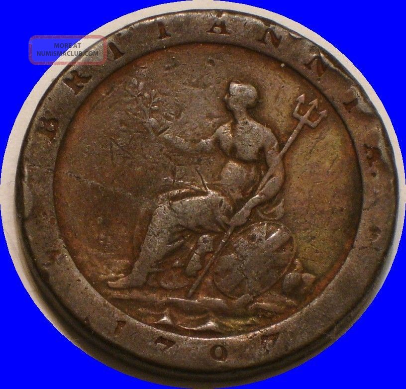 1797 Cartwheel Penny Of Great Britain UK (Great Britain) photo