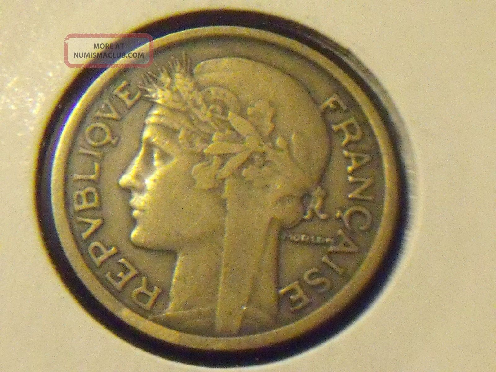 France Franc,  1931 - Coin - Europe photo