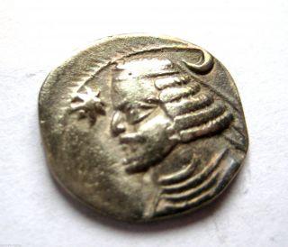 Circa.  57 - 38 B.  C Parthian Empire - King Orodes Ii Ar Silver Drachma Coin.  Vf photo