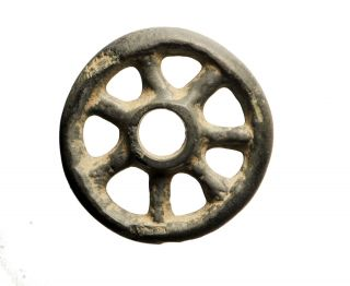 Outstanding Ancient Celtic Ring Proto Money - Rouelle Or Wheel Money 1000 Bc photo