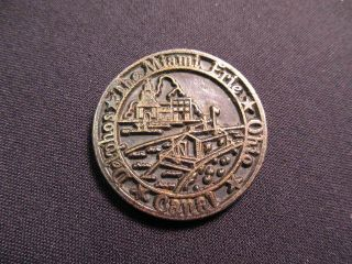 1976 Delphos,  Ohio Token - The Miami Erie Canal Token - Us Bicentennial Coin photo