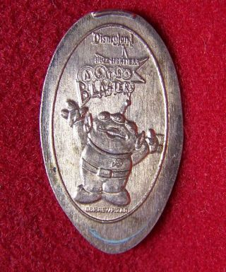 Disneyland Resort ' Little Green Man ' Astro Blaster Copper/zinc Elongated Penny photo