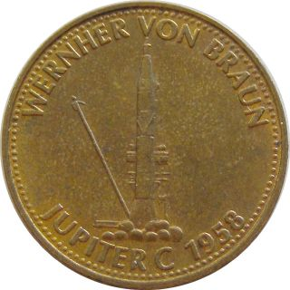 V480 Shell Token Aviation 1958 Wernher Von Braun - Jupiter C photo