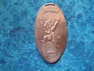Dale Disneyland Disney Elongated Penny Pressed Smashed 11 photo