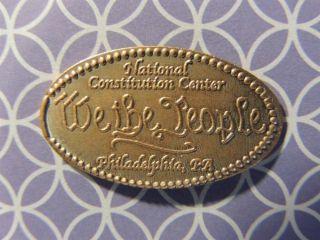Elongated Penny - Ecm00138z - National Constitution Center -