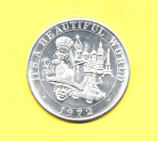 Eiffel Tower - Big Ben Token 1972 It ' S A World Coin photo