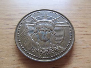 Statue Of Liberty Nestle Company Token Bb photo