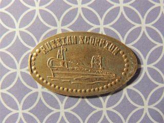 Elongated Penny - Ectt00302z - Russian Scorpion photo